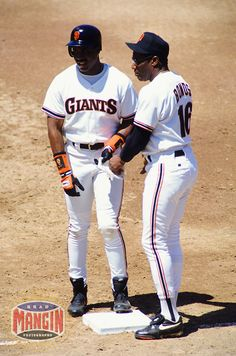 Barry Bonds & Bobby Bonds - San Francisco Giants