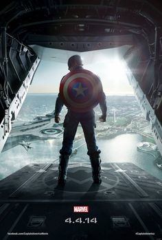 """Captain America - """"The Winter Soldier"""" - New Poster"""