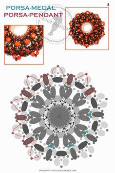 Porsa pendant pattern 8