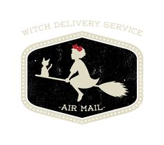 """""""Witch Delivery Service"""" by Jason Cryer http://www.teefury.com/gallery/2026/Witch_Delivery_Service/"""