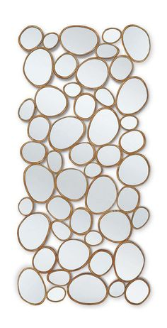Mirror with frame made of natural wood Pebble Beach, Christopher Guy (Harrison & Gil) Christopher Guy, Eclectic Design, Eclectic Decor, Modern Mirror Design, Pedicure Chairs For Sale, Vases, Sofa Set Designs, Art Deco Furniture, Mirror Furniture