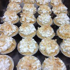 Mini coconut cream pies!!!!