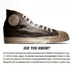 #ThrowbackThursday Did you know this about #OnitsukaTiger?