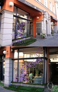 Perfumeria Quality Missala, Poznań /window display, event 2011/