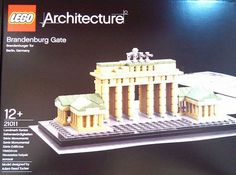Lego to Eternalize the Brandenburg Gate in Architecture Series The Lego iteration. This German national monument symbolized the division between East and West. The model was designed by Adam Reed Tucker and consists of 362 pieces.
