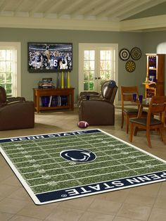 109 Best College Logo Rugs Images