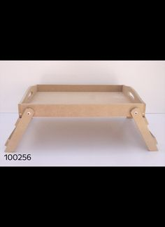 Bandeja de cama MDF 30 x 45 cm Cod. 100256