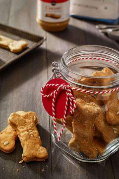 How To Make Homemade Jolly Dog Biscuits. Surprise the dog-lover in your life with this thoughtful homemade gift.