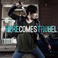 Jacqueline Toboni as Teresa Rubel (Trubel) in the TV series Grimm. Grimm Cast, Nbc Grimm, Grimm Tv Show, Grimm Series, Tv Series, Detective, Nick Burkhardt, David Giuntoli, Grimm Tales