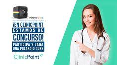 ¡Contestando este trivia de Clinic Point puedes ganar una cámara Polaroid Cube!