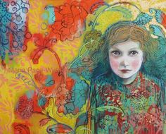 Dream Patterns, painting by artist Maria Pace-Wynters