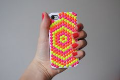 Neon Studded Phone Case | 50 Really Cool and Easy DIY Crafts For Teens | Crafts For Teens | DIY Projects for teens |DIY Crafts