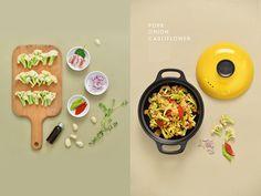 china food on Behance