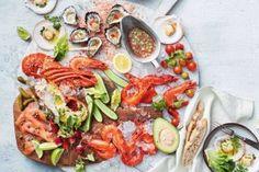 Δίαιτα express: Υπόσχεται απώλεια 10 κιλών σε 10 ημέρες (1 κιλό την ημέρα) - Ομορφιά & Υγεία - Athens magazine How To Cook Crayfish, Seafood Recipes, New Recipes, Xmas Recipes, Lamingtons Recipe, Fresh Oysters, Seafood Platter, How To Cook Lobster, Fish Finder