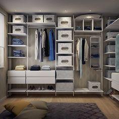 cabina armadio! Una stanza in più proprio vicino alla camera da letto ...