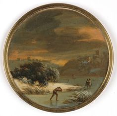 Philipp Jakob Loutherbourg the younger Strassburg - 1812 Chiswick by London) was a son of the painter Philipp Jakob Loutherbourg the Elder During the war, the artist had gone to the Netherlands, joined the British Army and remained with it. Joining The British Army, English Artists, Winter Landscape, Seasonal Decor, 18th Century, Art Work, Christmas Holidays, Original Artwork, Miniatures