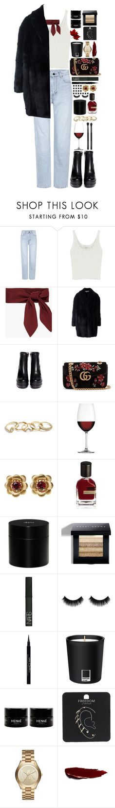 """""""My constellation in space"""" by bluemagicocean on Polyvore featuring Yves Saint Laurent, 3.1 Phillip Lim, Alexander McQueen, Robert Clergerie, Gucci, GUESS, Nachtmann, La Perla, Orto Parisi and Frédéric Malle"""