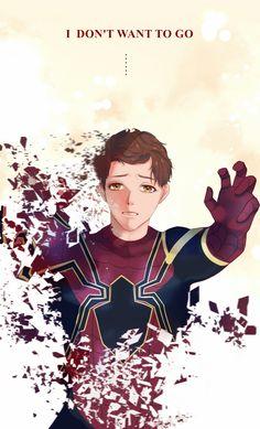 Peter    Avengers Infinity War    Spider-Man    Cr: nomiko Marvel Actors, Marvel X, Marvel Movies, Destiel, Johnlock, Amazing Spiderman, Avengers Infinity War, Dc Heroes, Tom Holland