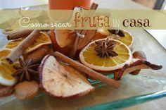 Cómo hacer fruta deshidratada en casa. ¡Perfecto para decorar!