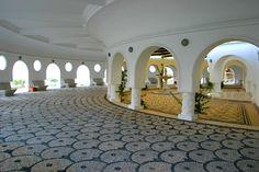 Kallithea Springs, Rhodes Mosaic Floors, Pebble Mosaic, River Rocks, Rhode Island, Color Themes, Homeland, Mosaics, Wanderlust, Patio