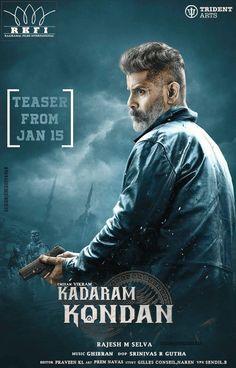 Vikram's Kadaram Kondan Teaser From Jan 15th - Social News XYZ #KadaramKondan Teaser From Jan 15th #ChiyaanVikram #KKTeaserFromJan15