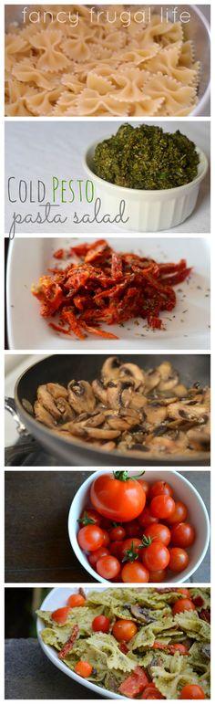 Cold Sun-Dried Tomato Pesto Pasta Salad