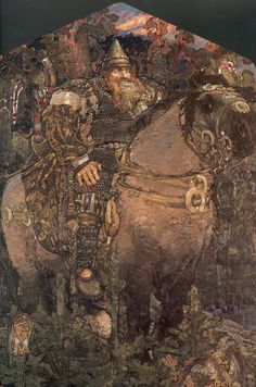Bogatyr - Mikhail Vrubel, 1898. A bogatyr (Russian: богатырь; Old East Slavic богатырь) or vityaz (Russian: витязь) is a stock character in medieval East Slavic legends (byliny), akin to a Western European knight-errant. In modern Russian, the word is used to describe a knight, a warrior or, figuratively, a strong person.