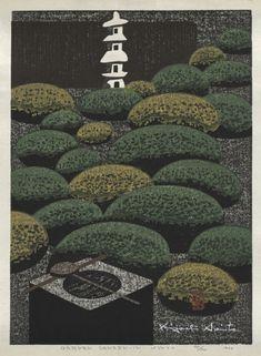 Kiyoshi Saito (Japanese, 1907-1997), color woodcut, . The Kelvin Smith Collection, given by Mrs. Kelvin Smith 1985.494