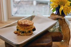 Southern Pimento Cheese & Sausage Biscuit by The Roost Boutique Hotel