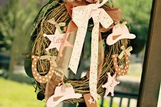 Pink Western Party Decorations   Labels: Cowgirl , Girls , Pink , Western
