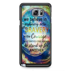 Divergent Dauntless Quote Nebula TATUM-3471 Samsung Phonecase Cover Samsung Galaxy Note 2 Note 3 Note 4 Note 5 Note Edge
