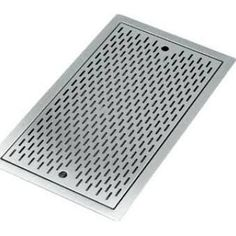 "Not quite right but this in front of cat box area??  Krowne KR-D36 14"" x 36"" Flush Mount Countertop Drain Tray"