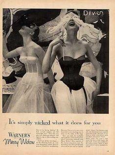 Warner's Merry Widow Corset Girdle (1955)