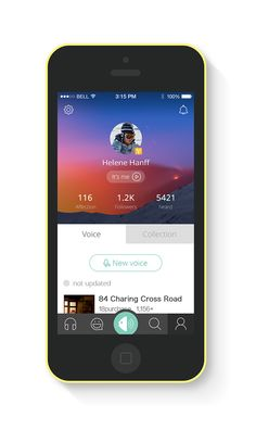 App Exercise works on Behance
