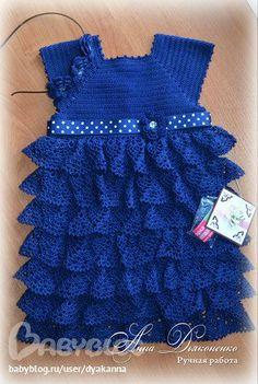 Vestido de noite para a menina de Anna. Comentários: LiveInternet - Diários de serviço russo on-line