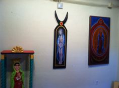 Another nontraditional and provocative depiction of Our Lady Of Guadalupe, a revered icon among Catholics and in Mexico, is facing criticism and a demand that it be removed. (Andy Stiny/Albuquerque Journal)