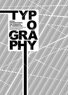 I find this interesting for it's boldness and it's visual extensions of the T and H directing you toward the world Typography.