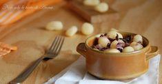 Gnocchi+di+patate+con+radicchio