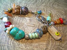 Taking Measure  Mixed Material Nomadic by JewelFireDesigns on Etsy