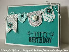 Fun Stampin' with Margaret!: Hearts a Flutter CCMC262