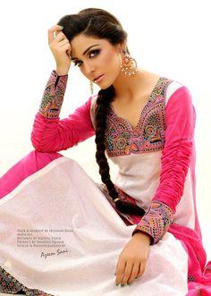 Latest Stylish Pakistani Long shirt,churidaar pajama,frock style Eid collection of women dresses 2012,Latest Indian summer eid collection of women dresses,outfit 2012 » stylish lawn eid outfit 2012