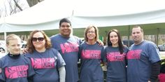 """Team UHS at the 2014 March of Dimes """"March for Babies."""" Go Team!"""