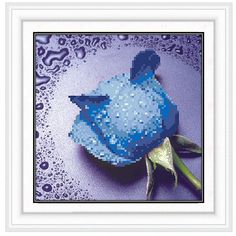 Independent 5d Diy Square Diamond Embroidery Multicolor Rose Flower Pictures Full Mosaic Kit Square Rhinestone Diamond Painting Cross Stich Reliable Performance Home & Garden