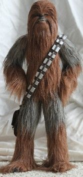 "Custom Star Wars 12"" Furry Chewbacca Figure"