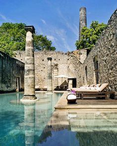 Hacienda Uayamon: where hours feel like minutes #HaciendaUayamon #Mexico