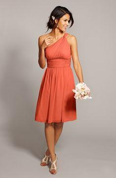 Bridesmaid dress by Donna Morgan