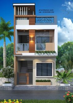 House Outer Design, Modern Small House Design, Modern Exterior House Designs, Bungalow House Design, House Front Design, Design Your Home, Bedroom Closet Design, Bedroom Furniture Design, House Elevation
