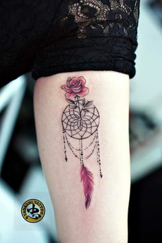 Dream Catcher tattoo by Tadashi