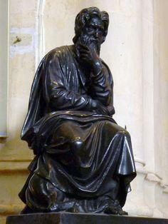 P1310062 Paris IV eglise St-Gervais-Protais chaire statue rwk - Église Saint-Gervais-Saint-Protais de Paris — Wikipédia