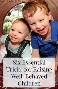 Raising well-behaved
